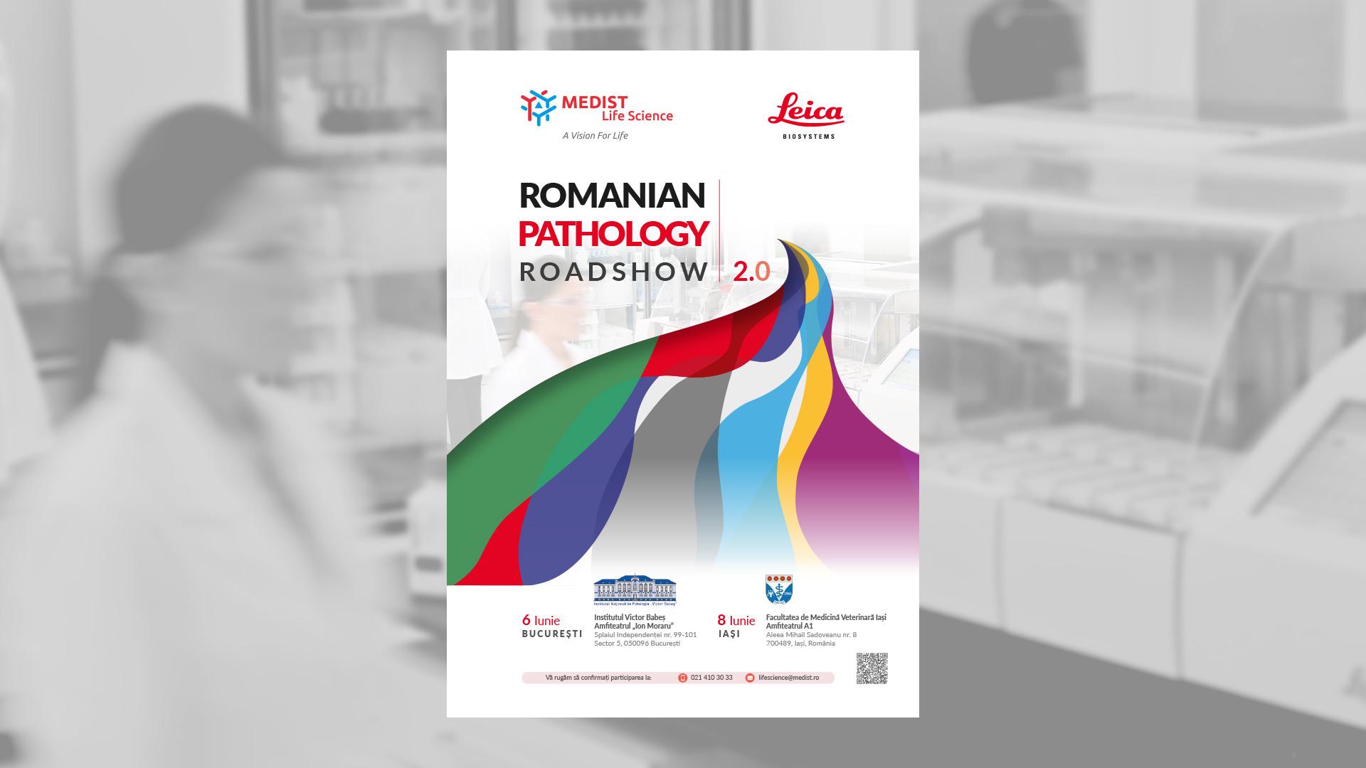 Romanian Pathology Roadshow poster