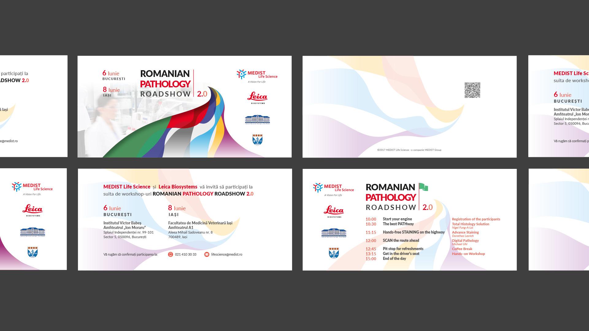 Romanian Pathology Roadshow invitatii
