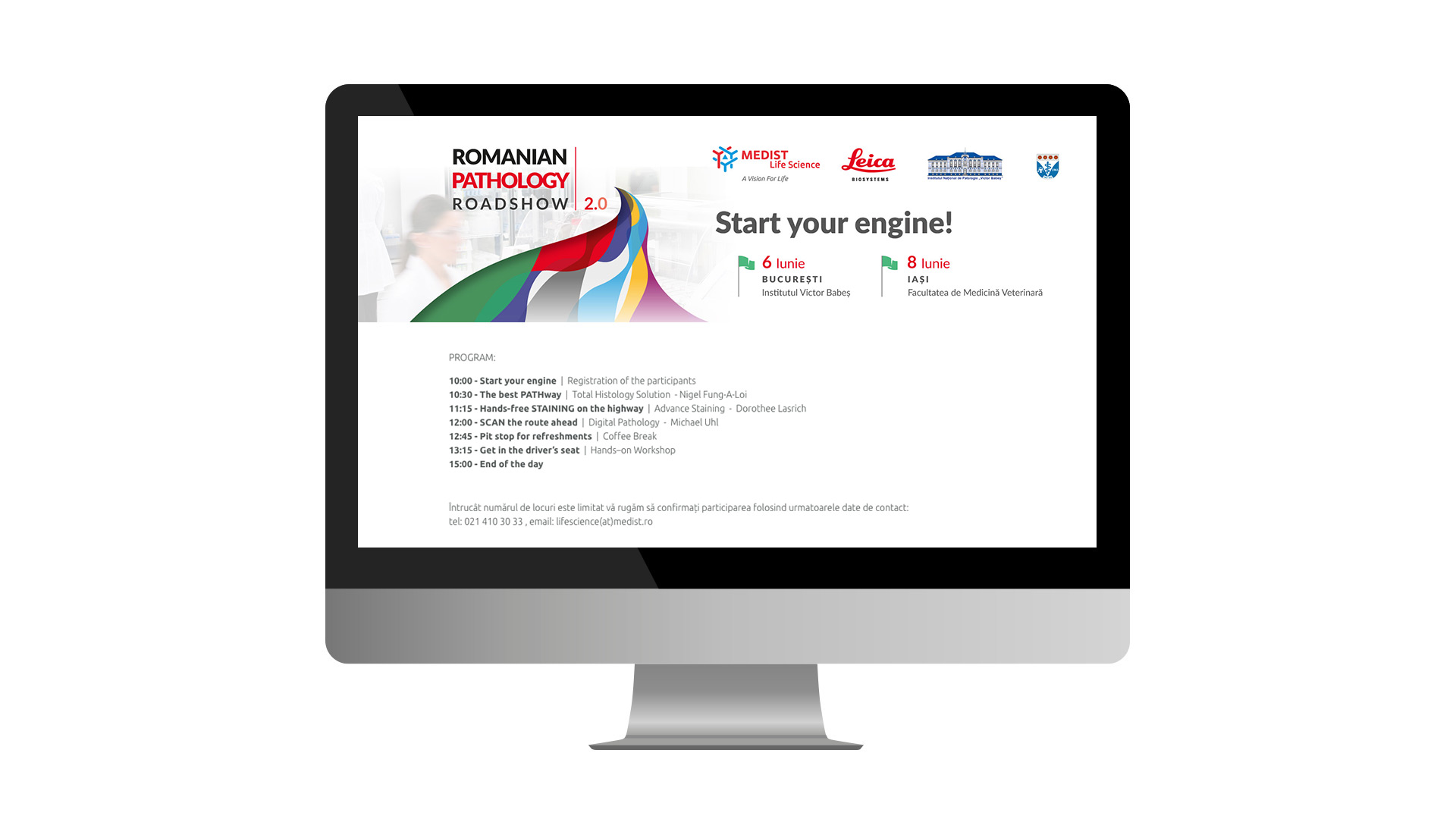 Romanian Pathology Roadshow web